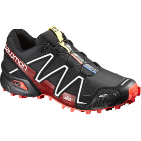 Salomon Spikecross 3 CS Shoes Unisex Black/Radiant Red/White
